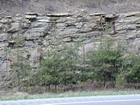 Barrier Facies of Pensylvannian Pottsville Formation, I. 75 just south of Jellico, Tennessee