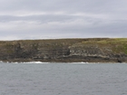 Exposures of Ross Formation in the cliffs west and south of Drom in Co Kerry. These Namurian outcrops turbiditic sands extend south east from the ruined Castle at Leck Point and are best seen from the Shannon Estuary (Rider, 1969, Martinsen, 1989; and Pyles, 2007).