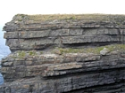 The Ross Formation of Loop Head is here expressed as turbidite sheet sands that accumulated as deepwater fan lobes that were dissected by sparse shallowly incised channels. Elliot (2000) records that these are thicker bedded, high net-to-gross, sheet turbidites of the lower part of the Ross Sandstone Formation