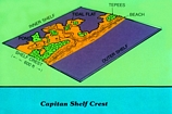 Tepee Facies just landward from the shelf crest of the Capitan Margin: diagram by C. Robertson Handford