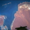 Woramel Bank Shark Bay W Australia: photographic image from outer space by NASA