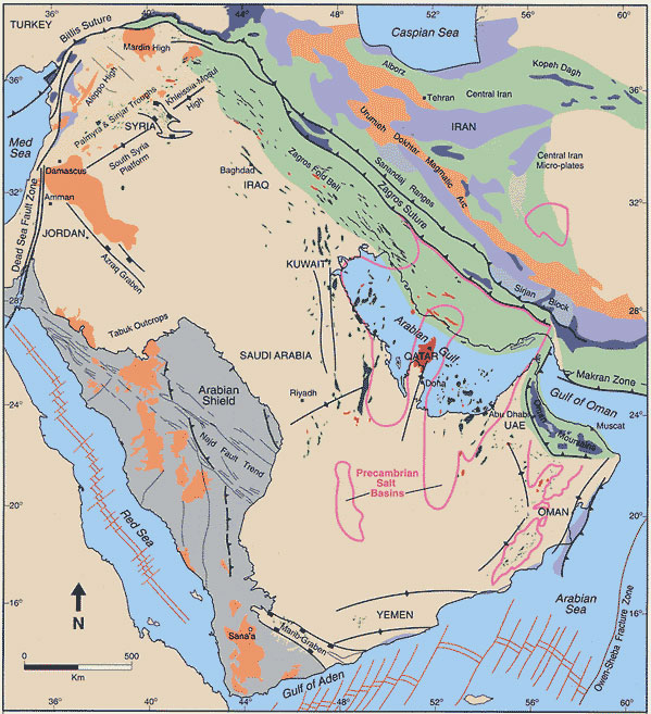 Arabian Plate  U2013 World Geology